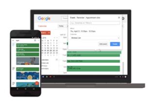 Google Calendar's