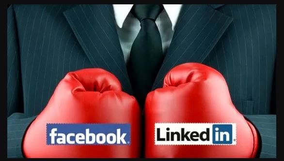 Facebook-VS-Linkedin-EZRankings