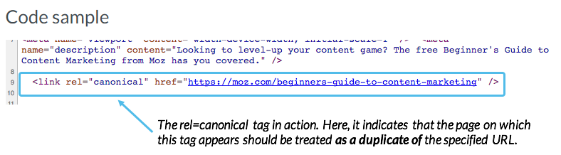 Canonical Tags