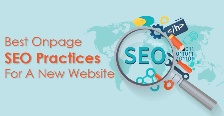 On Pages SEO for New Website